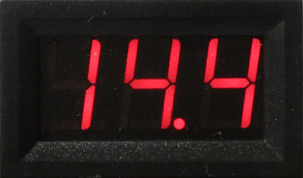 DCC Voltmeter