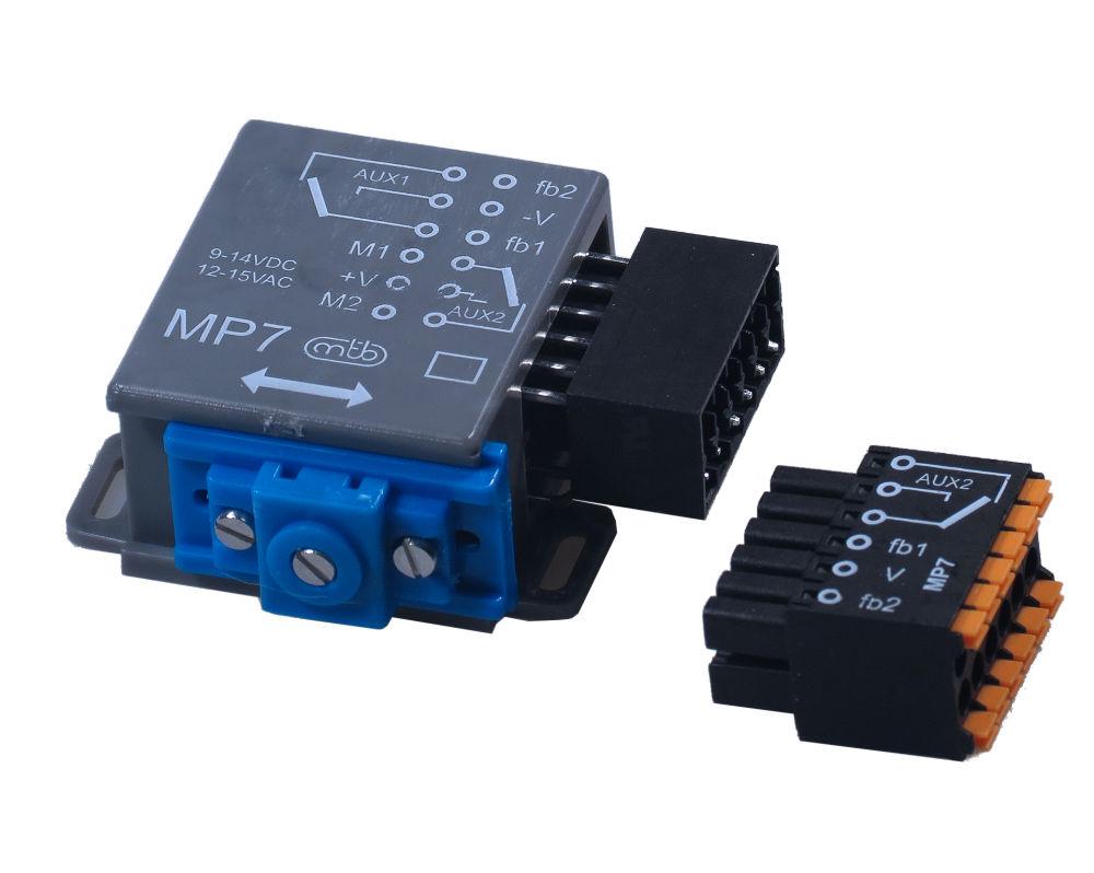 impulsgesteuerte Eingänge MTB Model Motorischer Antrieb MP6